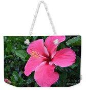 Hot Pink Hibiscus 1 Weekender Tote Bag