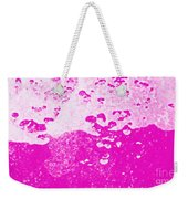 Hot Pink Liquid Weekender Tote Bag
