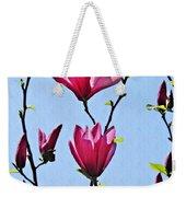 Hot Pink Magnolias Weekender Tote Bag
