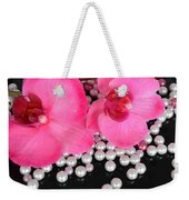 Hot Pink Orchids 2 Weekender Tote Bag