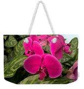Hot Pink Orchids Weekender Tote Bag