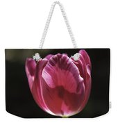Hot Pink Tulip Squared 02 Weekender Tote Bag