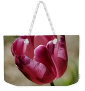 Hot Pink Tulip Squared Weekender Tote Bag