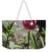 Hot Pink Tulip Weekender Tote Bag