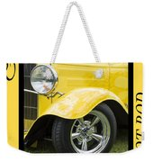 Hot Rod 10 Weekender Tote Bag
