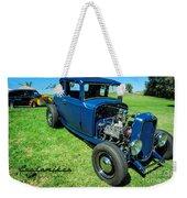 Hot Rod Blues Weekender Tote Bag