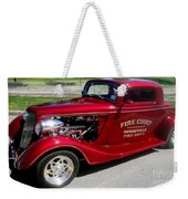 Hot Rod Chief Weekender Tote Bag