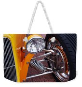 Hot Rod Headlight Weekender Tote Bag