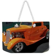 Hot Rod Orange Weekender Tote Bag