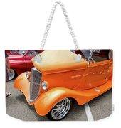 Hot Rod Reflection Weekender Tote Bag