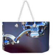Hot Rod Skull Rear View Mirror Weekender Tote Bag