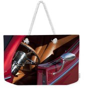 Hot Rod Steering Wheel Weekender Tote Bag