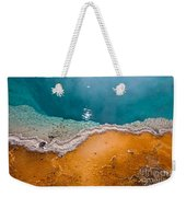 Hot Spring Detail Weekender Tote Bag