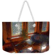 Hot Sun On Wrought Iron Weekender Tote Bag