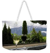 Hot Tub And Wine Weekender Tote Bag