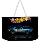 Hot Wheels '67 Pontiac Firebird 400-1 Weekender Tote Bag by James Sage