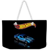 Hot Wheels 67 Pontiac Firebird 400-3 Weekender Tote Bag by James Sage