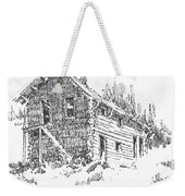 Hotel Red Lion Ghost Town Montana Weekender Tote Bag