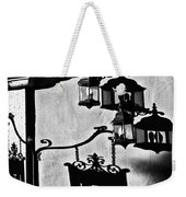 Hotel Sign - Reality And Shadow Weekender Tote Bag