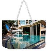 Hotel Swimming Pool Weekender Tote Bag