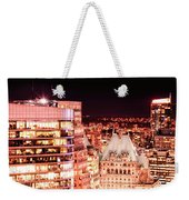 Hotel Vancouver And Sheraton Wall Center Weekender Tote Bag