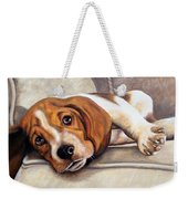 Hound Dog Weekender Tote Bag