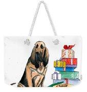 Hounddog Christmas Weekender Tote Bag