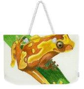Hourglass Frog Weekender Tote Bag