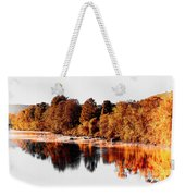 Housatonic River Mist Weekender Tote Bag