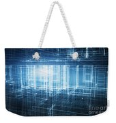 House 3d Project Weekender Tote Bag