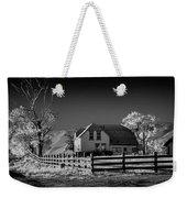 House And Cottonwoods Weekender Tote Bag