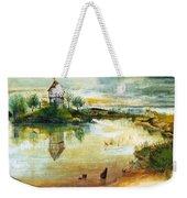 House By A Pond Weekender Tote Bag