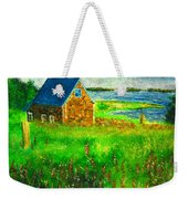 House By The Field Weekender Tote Bag