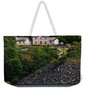 House By The Llyn Peris Weekender Tote Bag