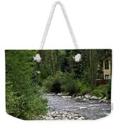 House By The Stream In Vail 1 Weekender Tote Bag