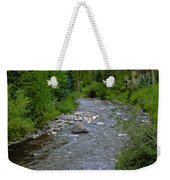 House By The Stream In Vail 2 Weekender Tote Bag