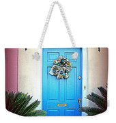 House Door 6 In Charleston Sc  Weekender Tote Bag