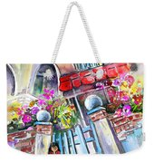 House Entrance In Garrucha Weekender Tote Bag
