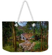 House In China Woods Weekender Tote Bag