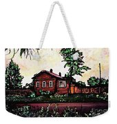 House In Sergiyev Posad   Weekender Tote Bag