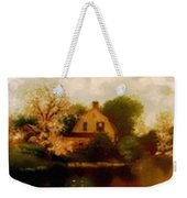House Near The River. L B Weekender Tote Bag