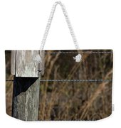 House On A Crooked Fence Post Weekender Tote Bag