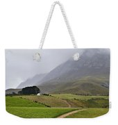House On A Hill In The Mist Weekender Tote Bag
