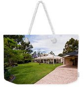 House On Land Weekender Tote Bag