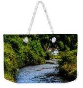 House On Margaree River Weekender Tote Bag