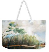 House On The Lake Weekender Tote Bag