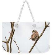 House Sparrow Weekender Tote Bag