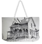House Virginia City Montana Weekender Tote Bag