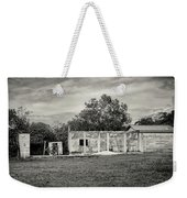 House With Outbuildings Weekender Tote Bag