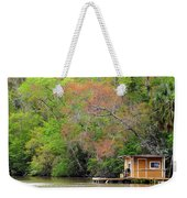 Houseboat On The Apalachicola River Weekender Tote Bag